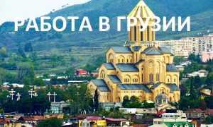 Работа в Грузии: ВНЖ и эмиграция