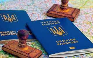 Биометрический паспорт: Украина