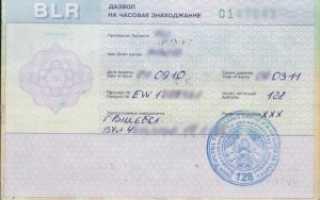 Разрешение на временное проживание в республике Беларусь в 2020 году: как получить