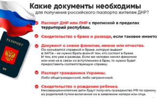 Как получить паспорт гражданина ЛНР и ДНР в 2020 году