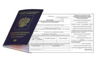 Уведомление о подтверждении проживания иностранного гражданина: образец и правила подачи